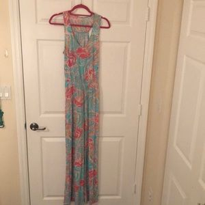 NEOT Lilly Pulitzer jellies be jammin maxi